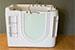Miscelatori vasca con idromassaggio in inglese frontale for Vasca da bagno in inglese
